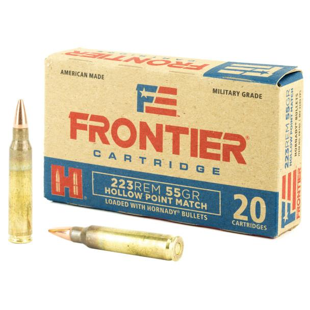 Frontier .223 Remingtom 55GR HP Match Ammunition 20rds