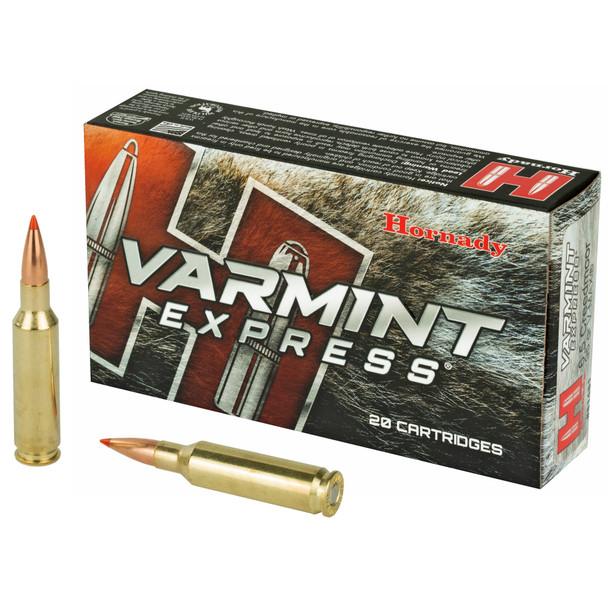 Hornady Varmint Express 6.5 Creedmoor 95gr V-Max Ammunition 20rds