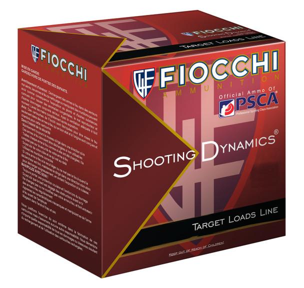 "Fiocchi Shooting Dynamics 12GA 2.75"" 7/8 oz 8 Shot Ammunition 25rds"
