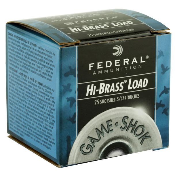 """Federal Hi-Brass Load Game-Shok 410GA 2.5"""" 1/2 oz 7.5 Shot Ammunition 25rds"""