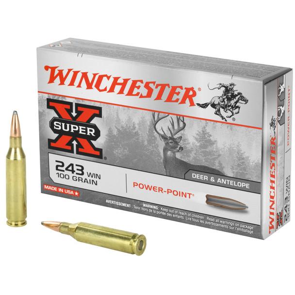 Winchester SuperX 243WIN 100gr PP Ammunition 20rds