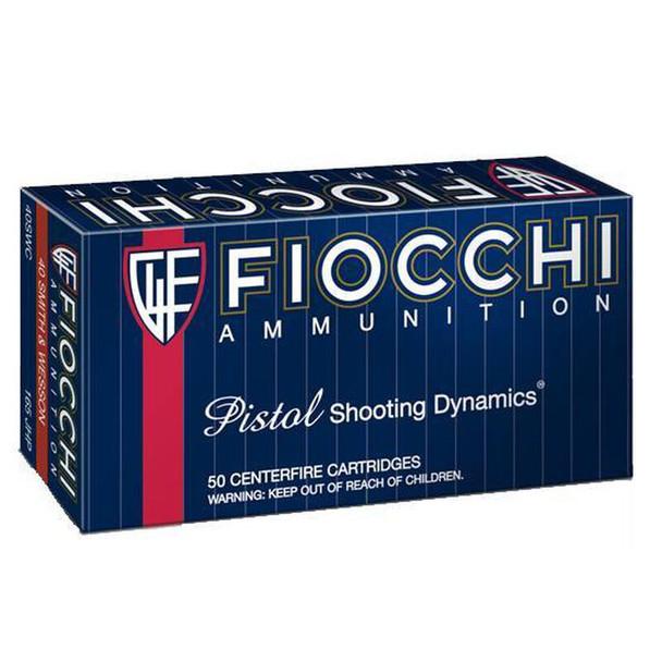 Fiocchi Shooting Dynamics 44MAG 200gr SJHP Ammunition 50rds