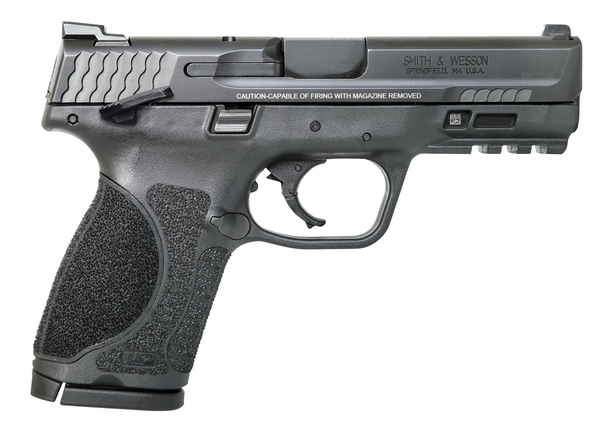 """Smith & Wesson 11678 M&P M2.0 Compact 40 S&W 4"""" 13+1 Black Black Armornite Stainless Steel Slide Black Interchangeable Backstrap Grip"""