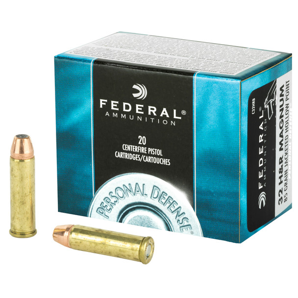 Federal Personal Defense 32HR Magnum 85gr JHP Ammunition 20rds