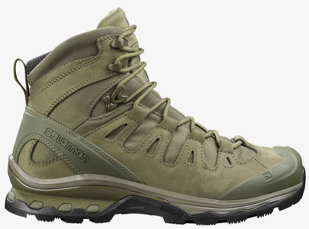 Salomon L41015100 Quest 4D Forces 2 EN Men's Tactical Boot Ranger Green
