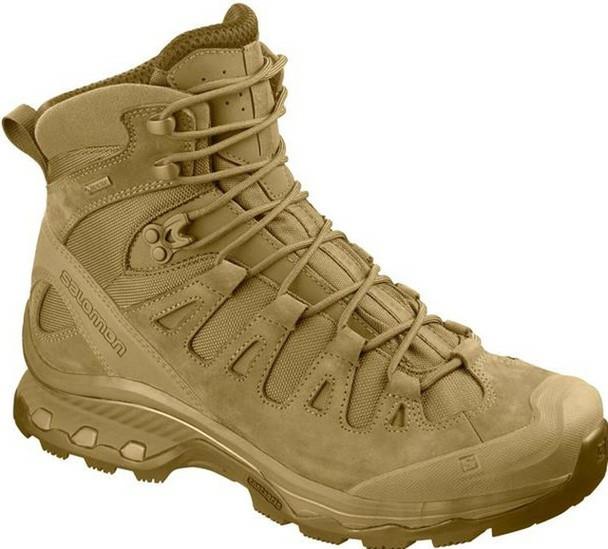 Salomon L40943400 Quest 4D GTX Forces 2 Men's Tactical Boots Coyote