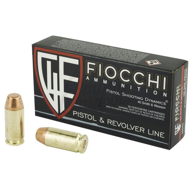 Fiocchi 40SW 180gr FMJ TCFMJ Ammunition 50rds