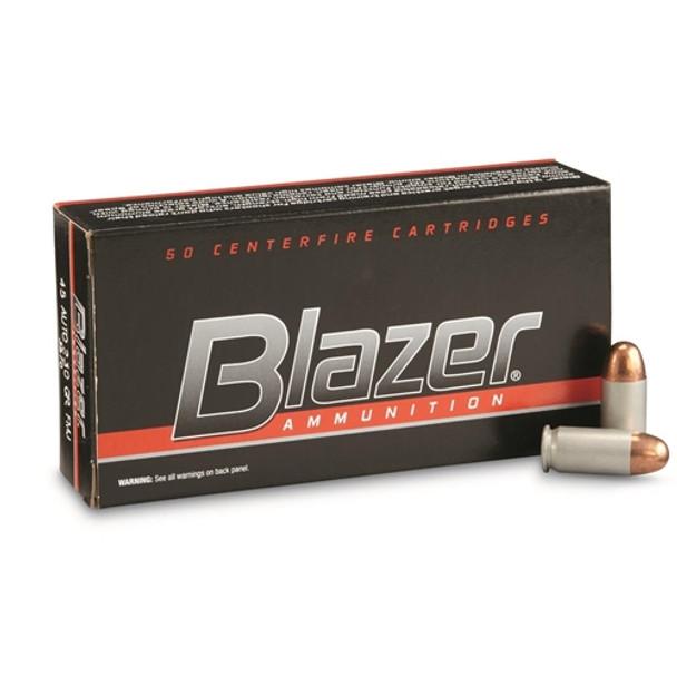 CCI Blazer 45ACP 230gr FMJ Ammunition 50rds