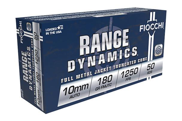 Fiocchi 10mm 180gr FMJ Ammunition 50rds
