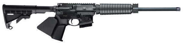 """Smith & Wesson 12055 M&P15 Sport II OR *CA Compliant 5.56x45mm NATO 16"""" 10+1 Black Fixed Black Synthetic Stock Black California Paddle Grip Right Hand"""