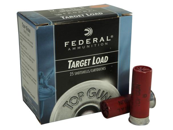 "Federal Top Gun 12GA 2.75"" 1 1/8 oz 8 Shot 25rds"