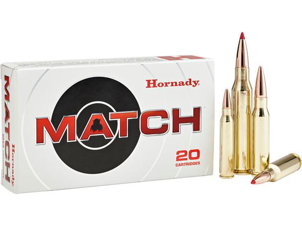 Hornady Match .308 Winchester 178gr HPBT Match Ammunition 20rds