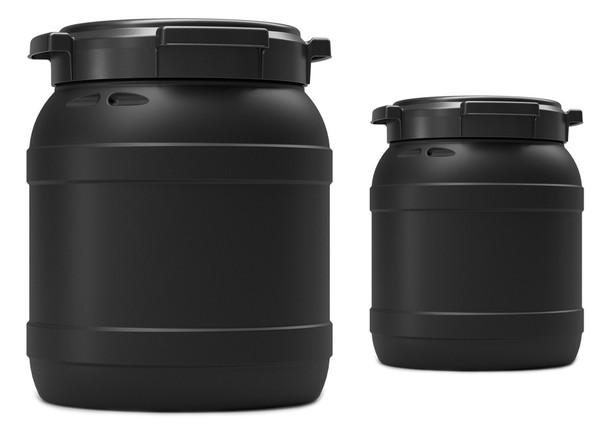 CurTec Wide-Neck UV Safe Water & Airtight Drums SET