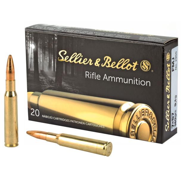 S&B 7x57 140gr FMJ Ammunition 20rds