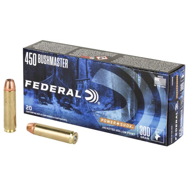 Federal PowerShok 450 BUSHMASTER 300gr 20rds