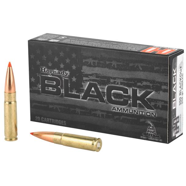 Hornady BLACK 300 AAC Blackout 208gr A-MAX Ammunition 20rds