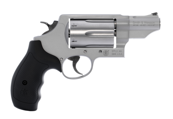 """Smith & Wesson 160410 Governor *MA Compliant 45 ACP/410 Gauge 6 2.75"""" Stainless Steel"""