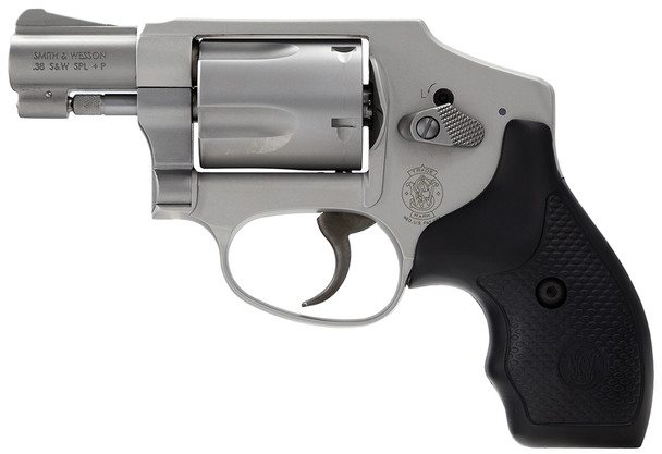"""Smith & Wesson 642 Airweight 38 S&W Spl +P 5rd 1.88"""" Stainless Revolver"""