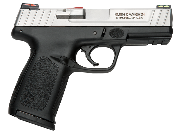 """Smith & Wesson SD9 VE *CA Compliant 9mm  4"""" 10+1 Stainless Pistol"""