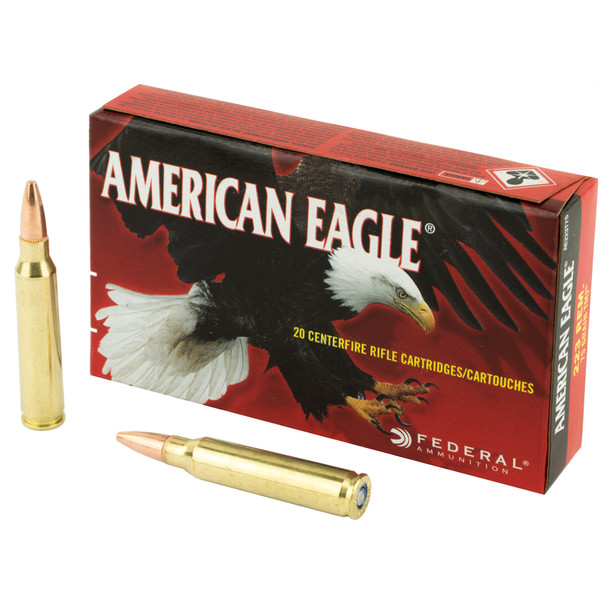 Federal American Eagle .223 Remington 75gr TMJ Ammunition 20rds
