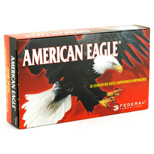 Federal American Eagle .308 Winchester 150gr FMJ Ammunition 20rds