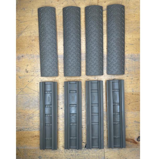 ERGO Diamond plate rail covers Tan /4pk, Open Box