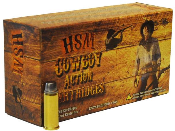 HSM Cowboy Action .41 Remington Magnum 210gr Hard Cast Lead Semi-Wadcutter Ammunition 50rds