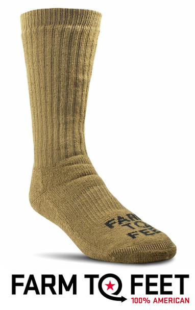Farm To Feet Kodiak Full Cushion Extended Crew Socks