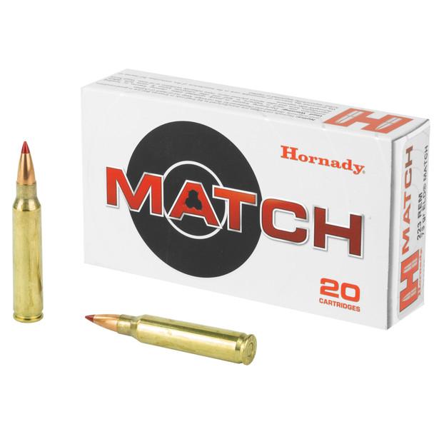 Hornady Match .223 Remington 73gr ELD Match Ammunition 20rds