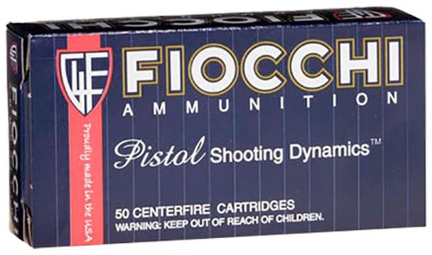 Fiocchi 9x21mm IMI 123gr FMJ Truncated-Cone Ammunition 50rds