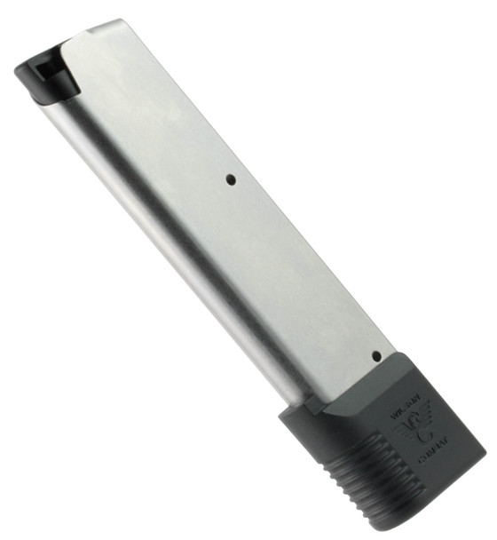 Wilson Combat 4745FS10 OEM 45 ACP 1911 Government 10rd Stainless Detachable with Wraparound Floor Plate. This replacement or spare magazine is compatible with your 1911 Government. It features a wraparound floor plate.