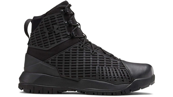 Under Armour 1299242  Black UA Stryker Tactical Boots - 12 R