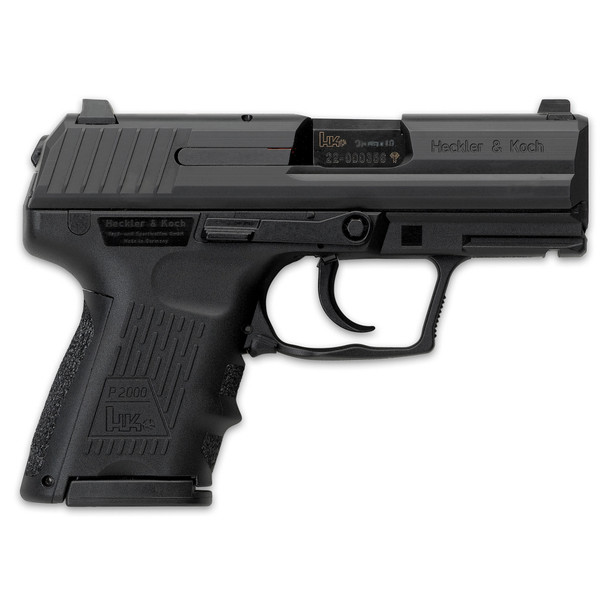 H&K P2000SK V2 Sub Compact, 40S&W Pistol w/2 9Rd Mags