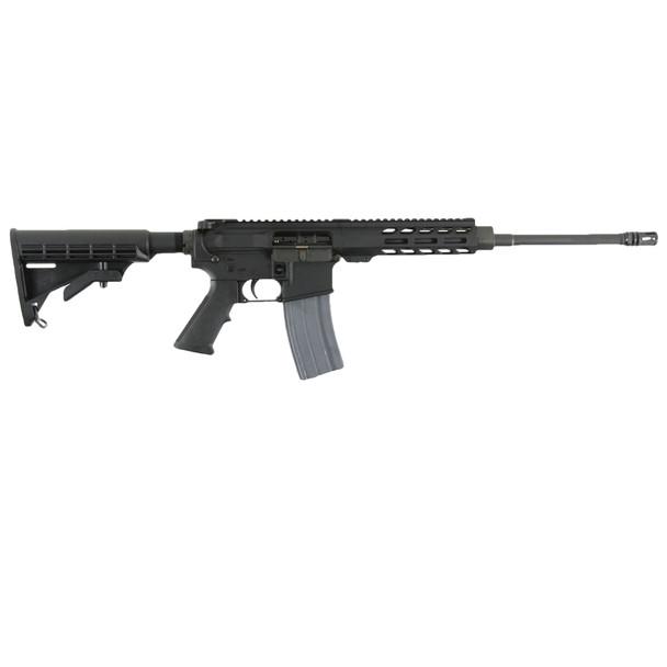 """Rock River Arms DS1850 LAR-15M Rrage 223 Rem,5.56x45mm NATO 16"""" 30+1 Black 6 Position Stock"""