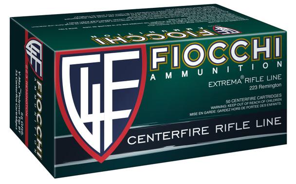 Fiocchi Extrema .223 Remington 55gr V-Max Ammunition 50 Rounds