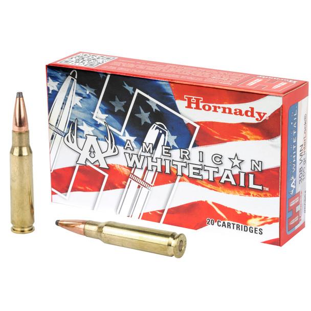 Hornady American Whitetail .308 Winchester 165gr Soft InterLock Ammunition 20rds