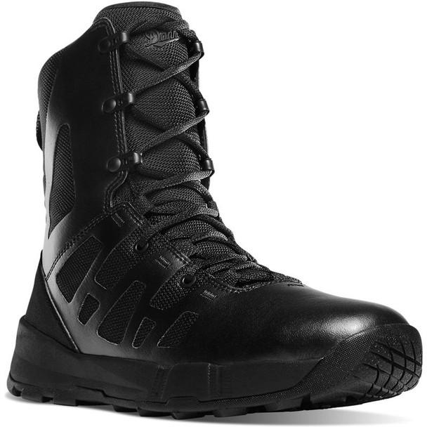 Danner 21382 Men's Dromos 8 inch Hot Weather Black Duty Boots