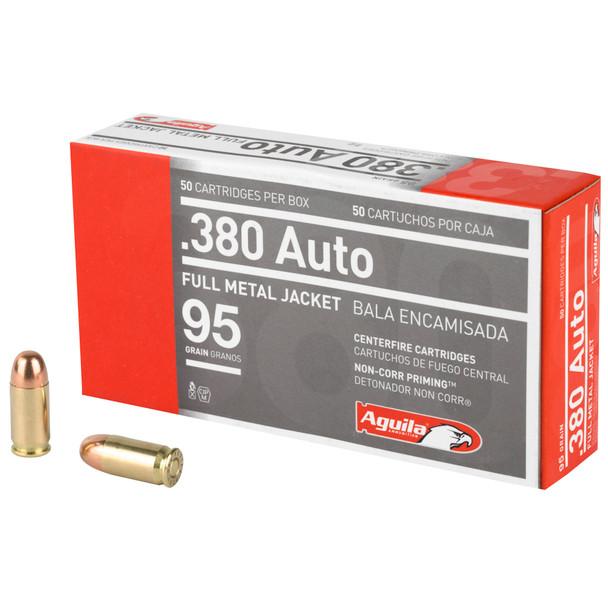 Aguila .380 ACP 95gr FMJ Ammunition 50rds