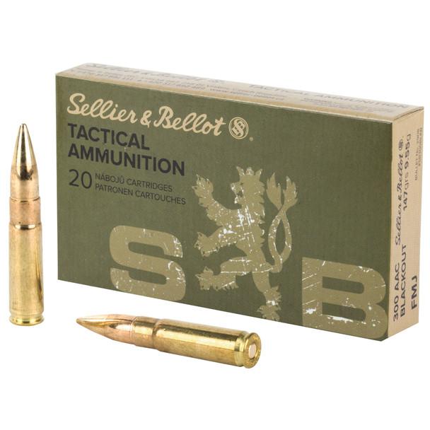 S&B .300 Blackout 147gr FMJ Ammunition 20rds