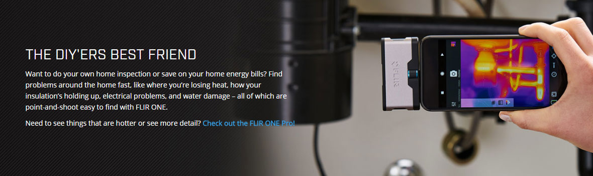 Flir One Thermal Imaging Camera Attachment