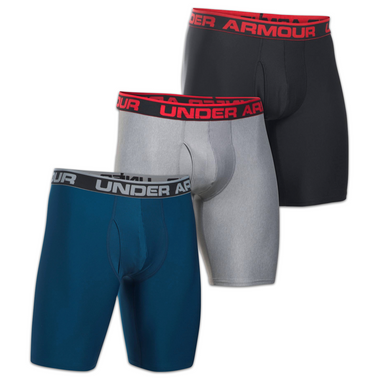 "Black//Red Small NEW Under Armour Men/'s Original Series 9/"" Boxerjock"