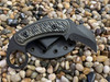 C.T.K. Compact Tactical Karambit, 3DBlack/ OD Green G-10 Handles, Persian Double edge, Black finish