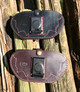 Leather Trench Knuckle Sheath: Brown Leather