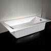 "TUB02 Piazza Bathtub 66""W"