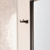 1813  Eleganza Double Robe Hook