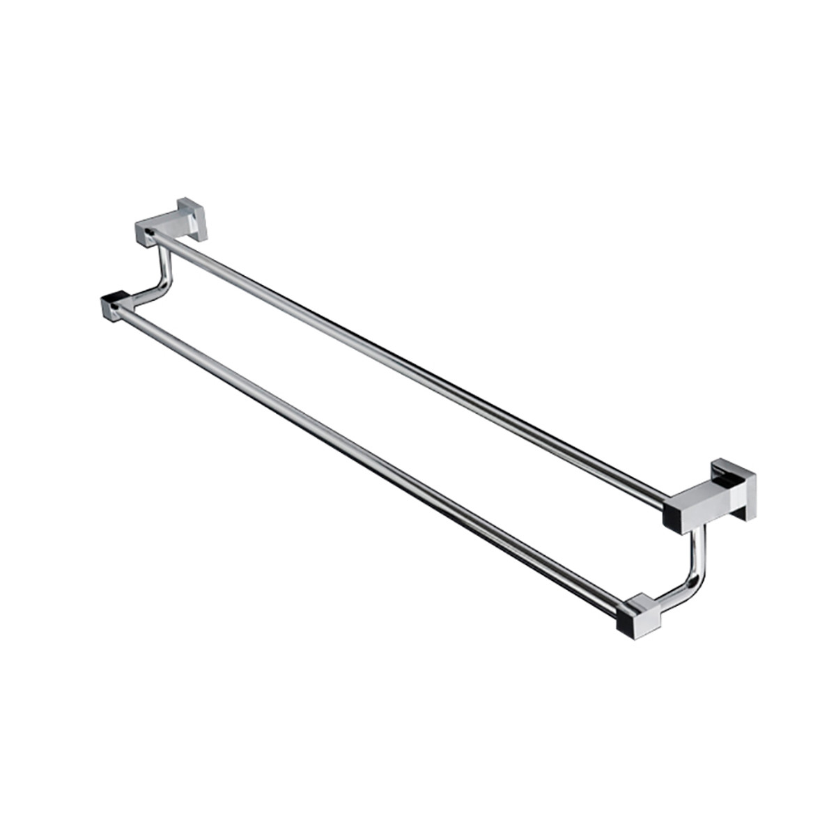 "4906 Kubista Double Towel Bar 24-1/2""W"