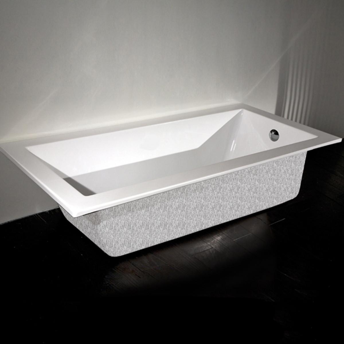 """TUB02 Piazza Bathtub 66""""W"""