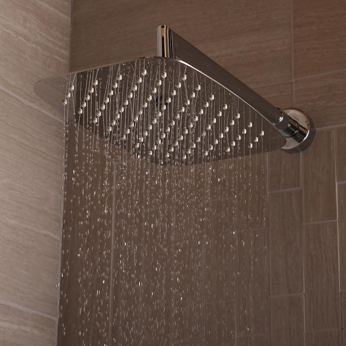 1874 Eleganza Rectangular Rain Shower Head
