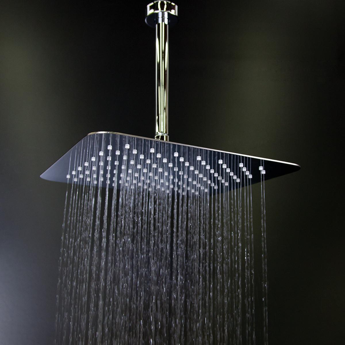 1864 Eleganza Square Rain Shower head