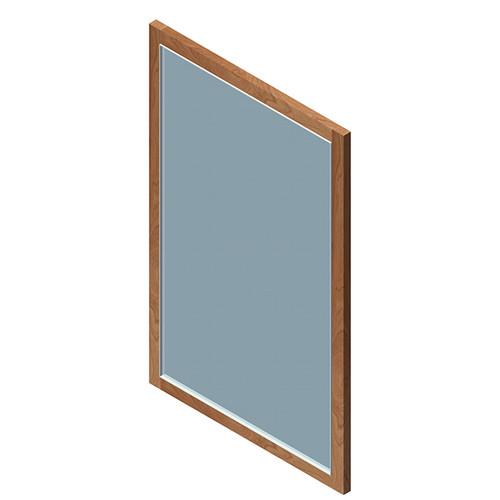 """H267 Kubista Mirror 20""""W"""